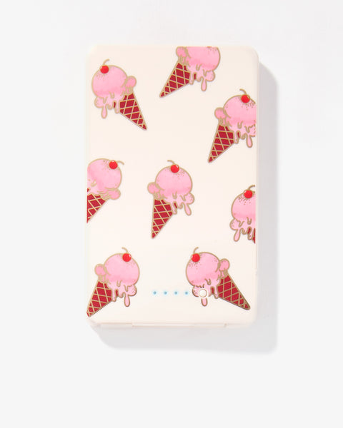 Ice Cream, Portable Charger