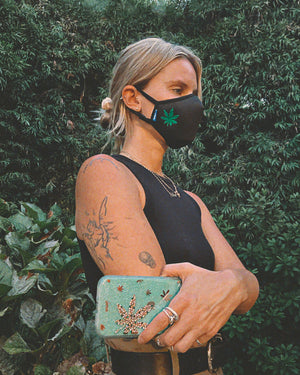 Sonix X LS&B Embroidered Face Mask - Mary Jane