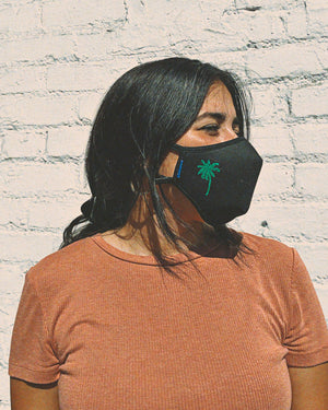 Sonix X LS&B Embroidered Face Mask - Palm Tree