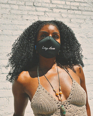Sonix X LS&B Embroidered Face Mask - Say Less