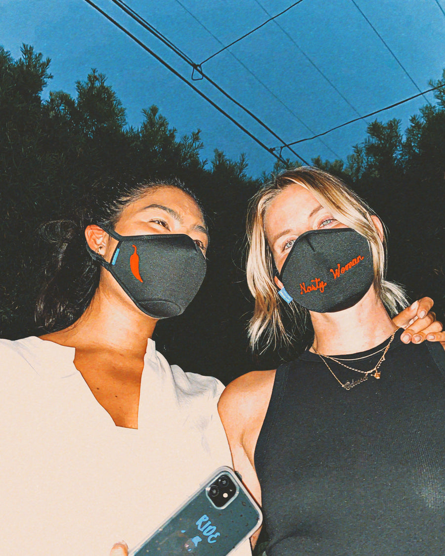 Sonix X LS&B Embroidered Face Mask - Chili Pepper