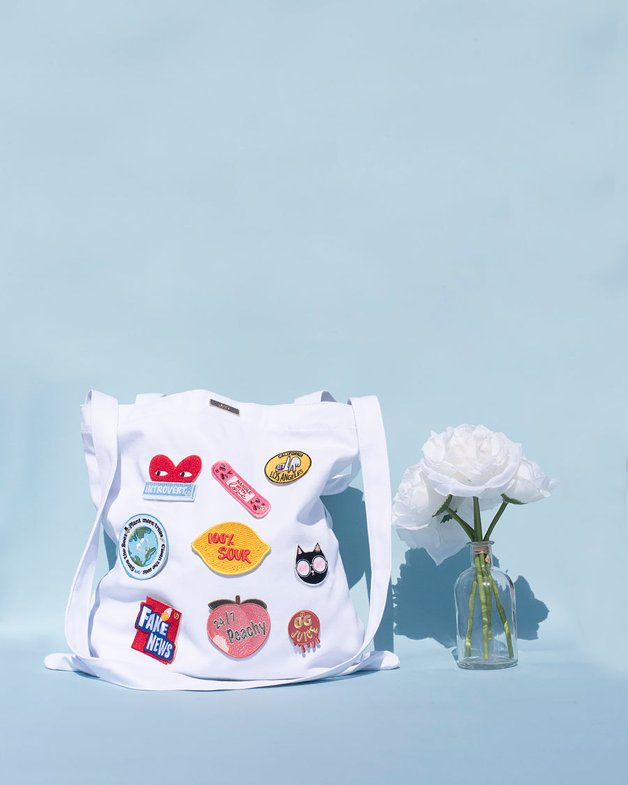 Make It Yours Bag - White