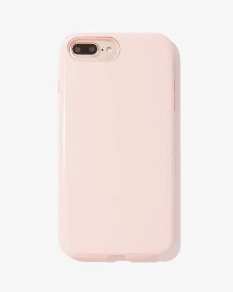 Millennial Pink Patent, iPhone 8/7/6 Plus