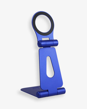 Pedestal, Magnetic Phone Stand - Pacific Blue