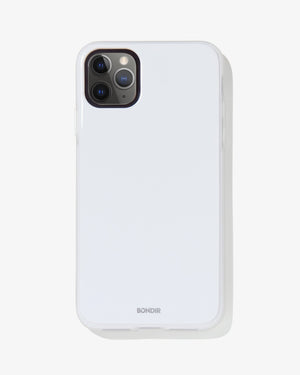 Piano Finish iPhone Case- White Bondir by sonix