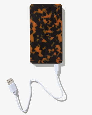 Brown Tort, Portable Charger (5K) Portable chargers