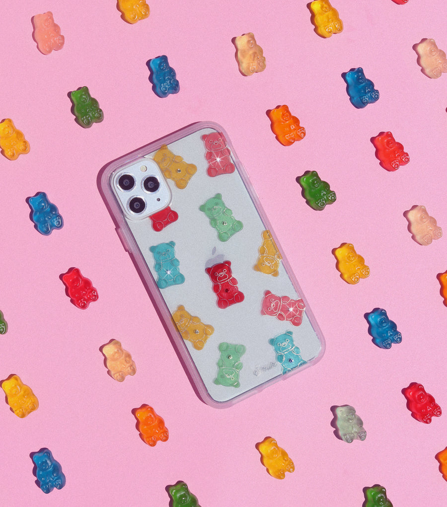 Rhinestone Gummy Bear iPhone Case