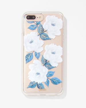 Sapphire Bloom, iPhone 8/7/6 Plus Florals