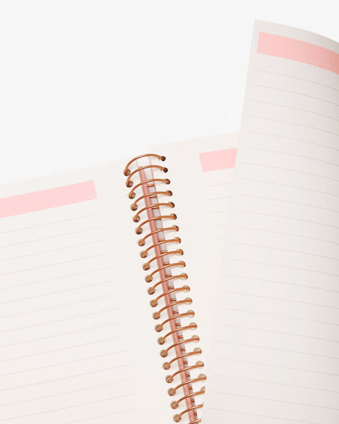 Spiral Notebook - Take Out