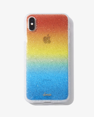Sunset Glitter iPhone Case