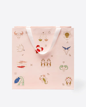 Sonix Large Gift Bag - Zodiac Red