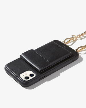 Tres Case Crossbody iPhone Case- Black Crossbody cases