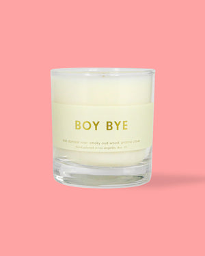 Boy Bye Candle - 8oz.
