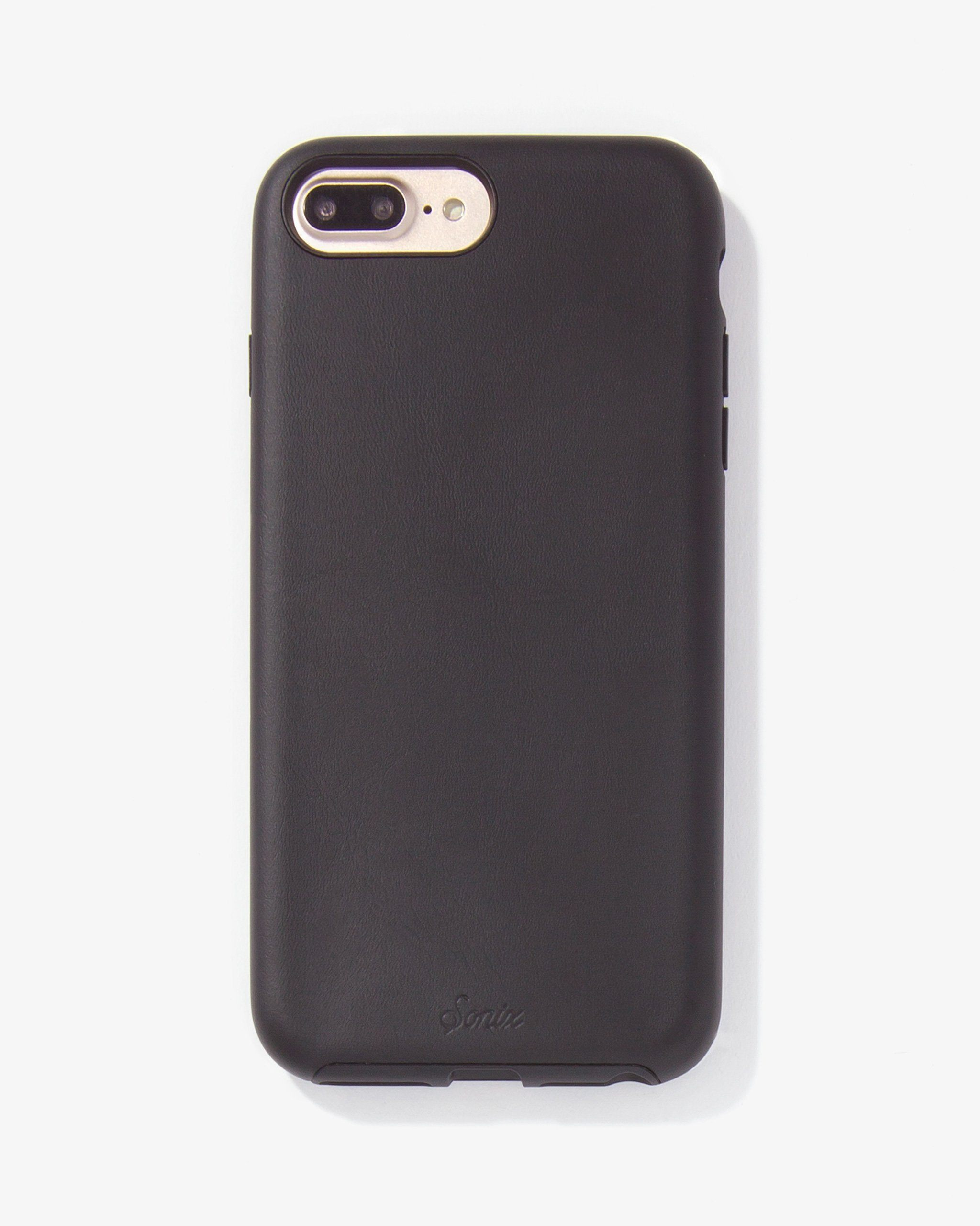 hot sale online 78bd7 94bed Black Leather, iPhone 8/7/6 Plus