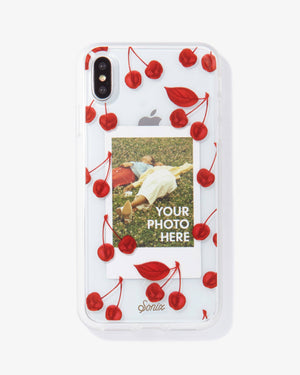 Cherry Photo iPhone Case Red