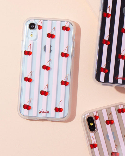 Cases - Cherry Stripe, IPhone XR