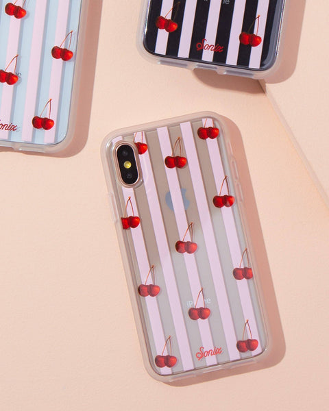 Cases - Cherry Stripe, IPhone XS/X
