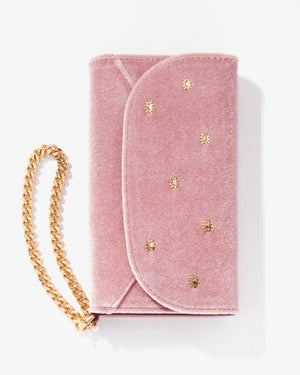 Cases - Embellished Rose Velvet Wristlet, IPhone XS/X Sale