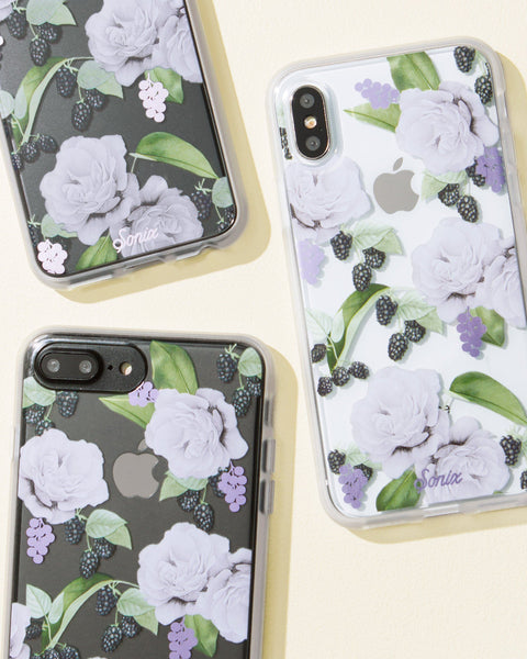 Cases - Floral Berry, IPhone 8/7/6 Plus