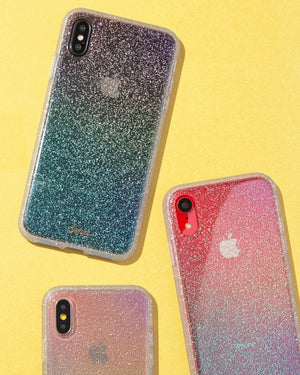 Cases - Rainbow Glitter, IPhone XS Max