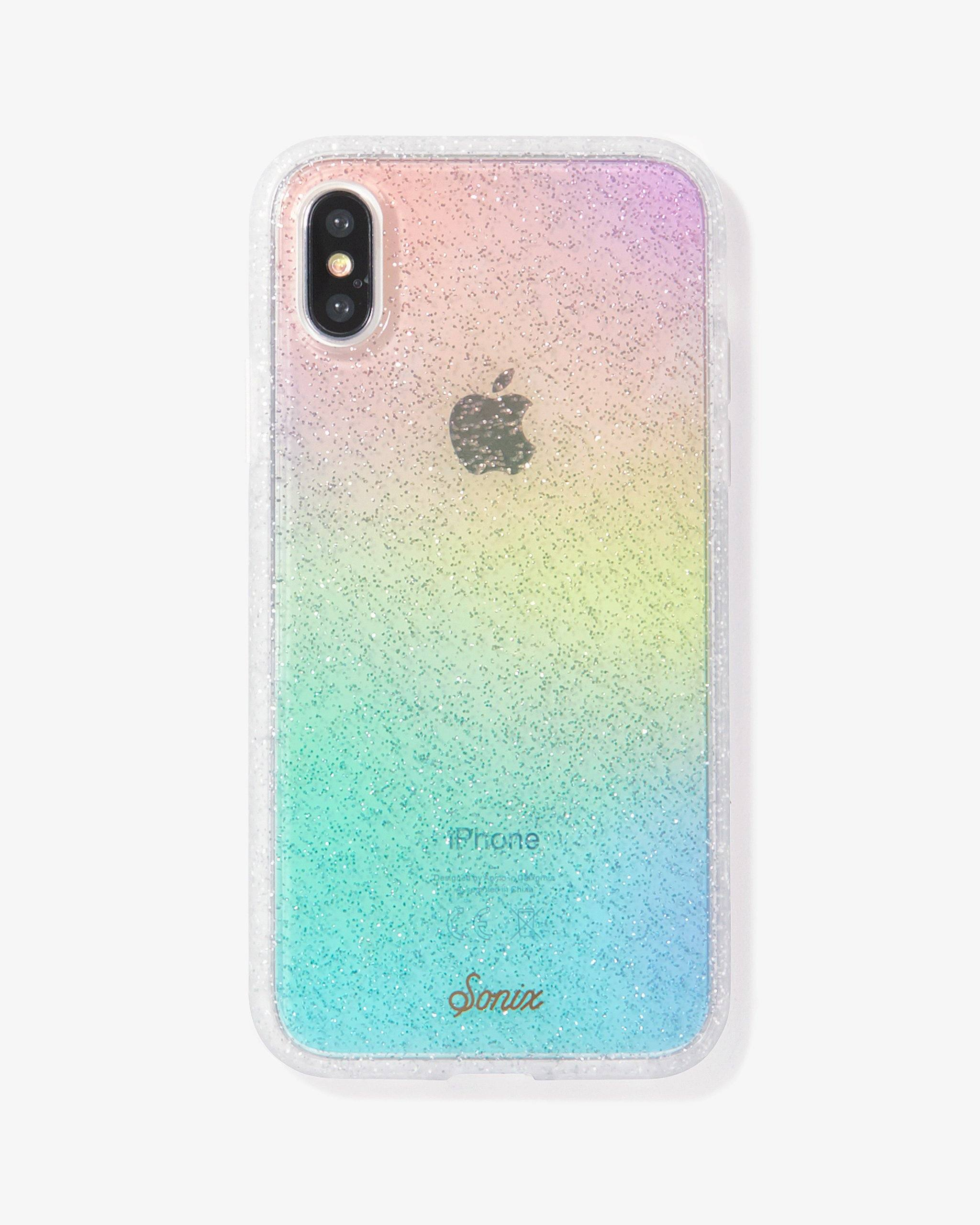 glittery iphone xs case