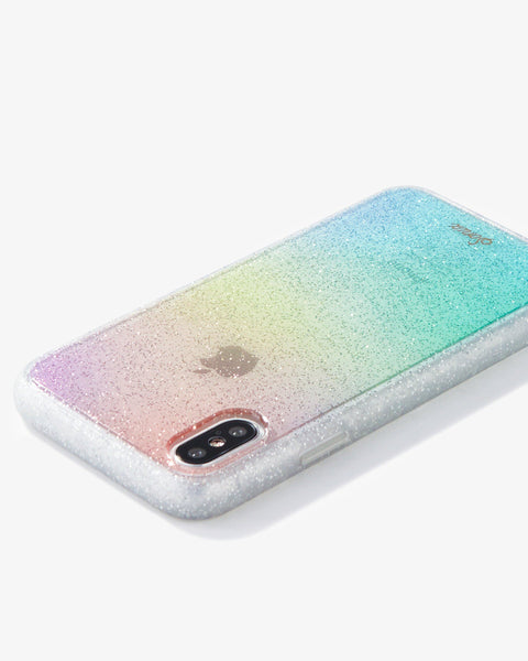 Cases - Rainbow Glitter, IPhone XS/X