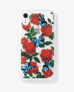 Cases - Rhinestone Butterfly Garden, IPhone XR Lunar new year