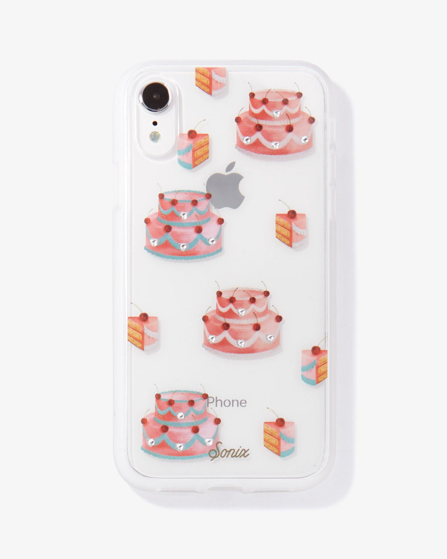Rhinestone Fancy Cake iPhone Case