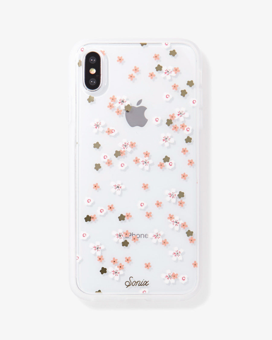Rhinestone Floral Bunch iPhone Case