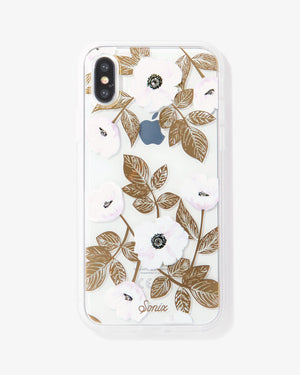 Rhinestone Harper iPhone Case Florals
