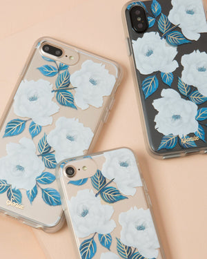 Cases - Sapphire Bloom, IPhone XS/X Phone cases