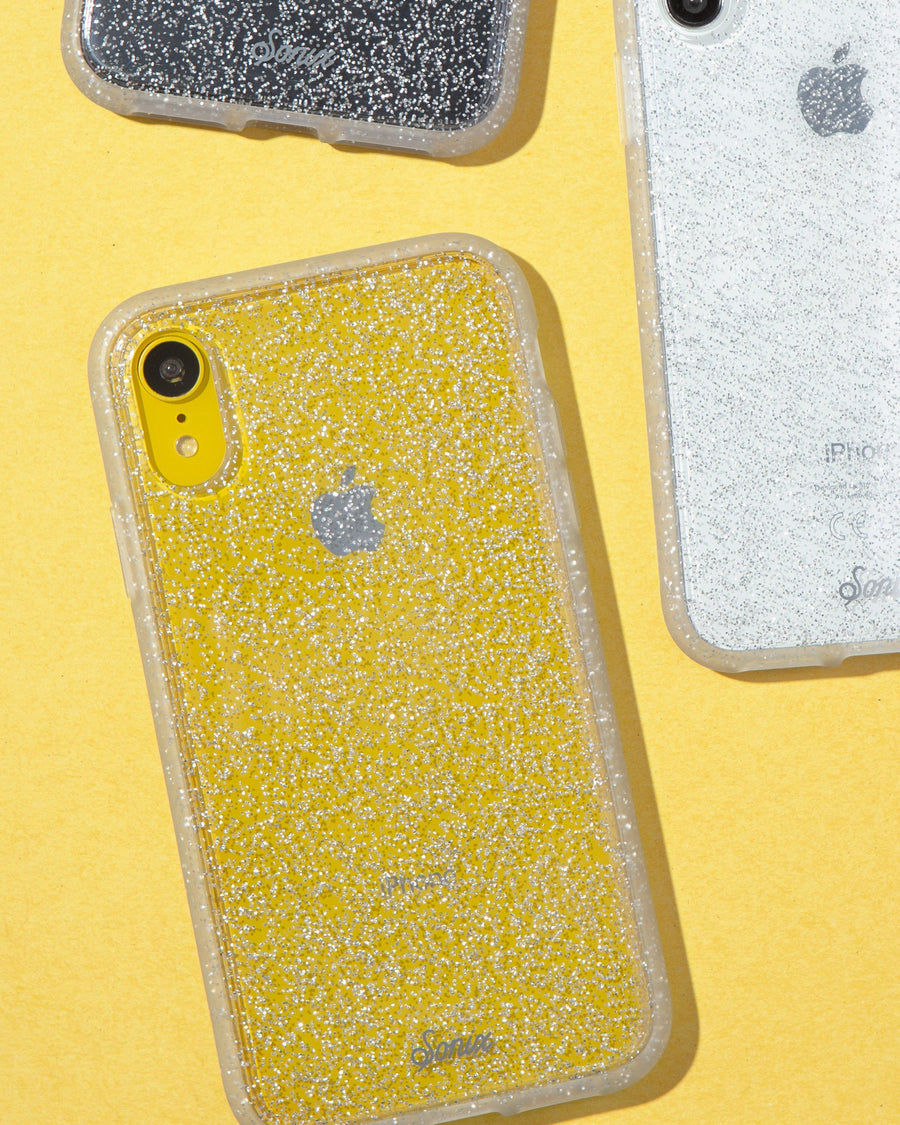 Cases - Silver Glitter, IPhone XR