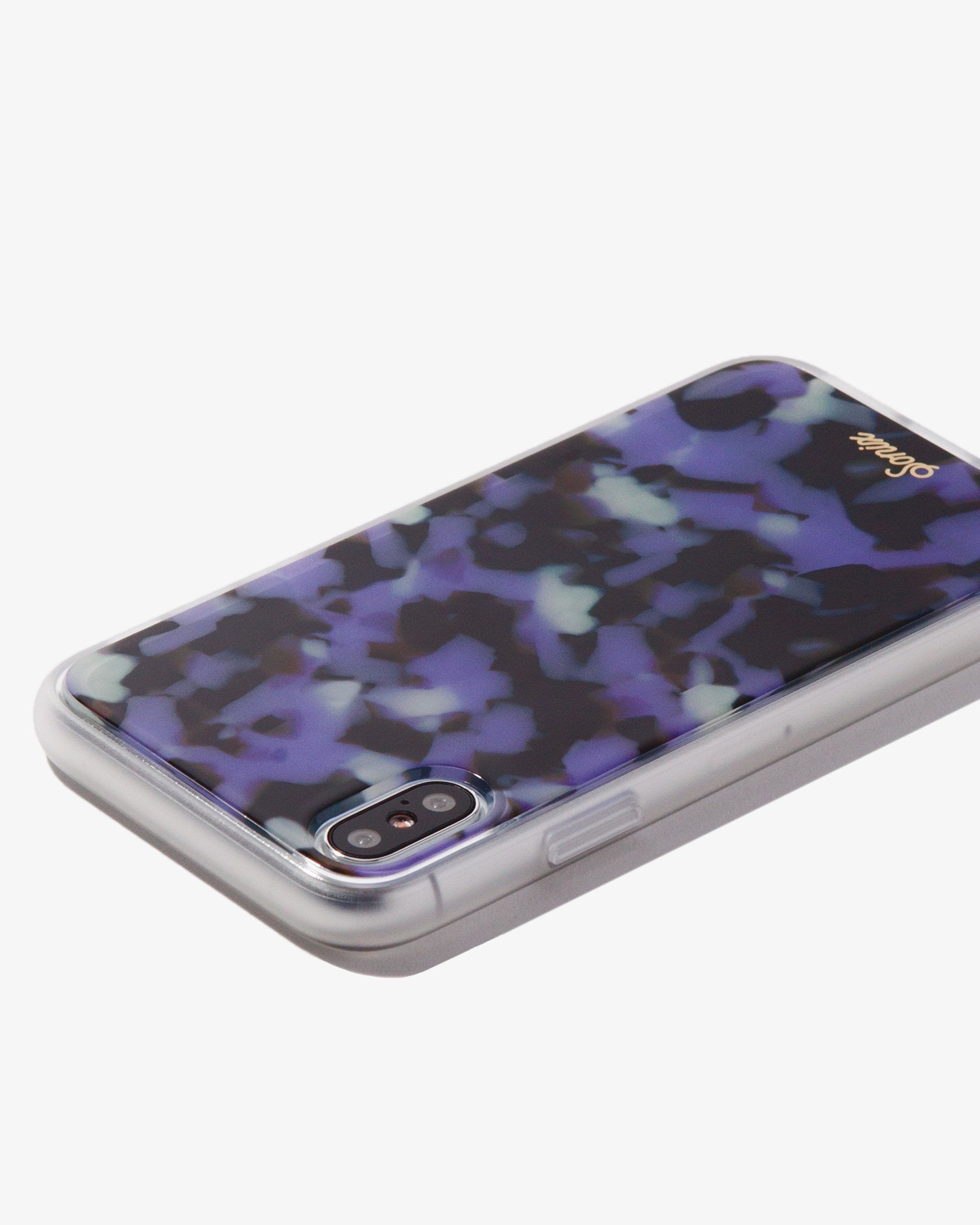 lilac iphone xs case
