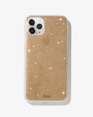 Copper Glitter iPhone Case Glitter