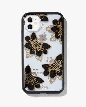 Desert Lily Black, iPhone (11 / XR) Florals