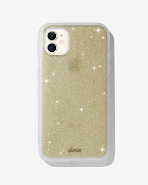 Gold Glitter iPhone Case Gold