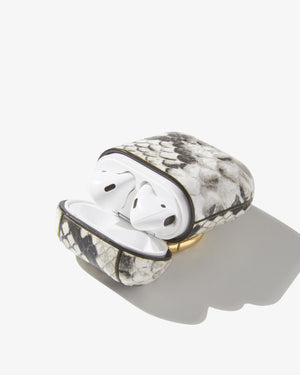 AirPod Case - Gray Python Airpod cases