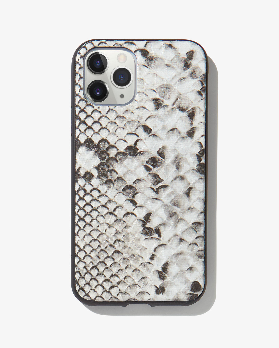 Gray Python Leather, iPhone 11 Pro / XS / X
