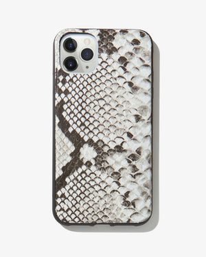Gray Python Leather, iPhone 11 Pro Max / XS Max Iphone 11 pro max / xs max