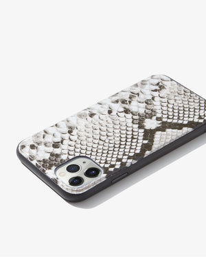 Gray Python Leather, iPhone 11 Pro Max / XS Max Phone cases