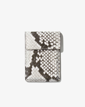 Wallet Sticker - Gray Python