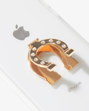 Phone Stand - Horseshoe Phone rings & stands