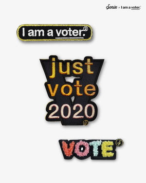 I am a voter.® - Patch Set Gifts