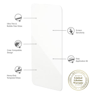 iPhone 12 Screen Protector (2-Pack) Screen protectors