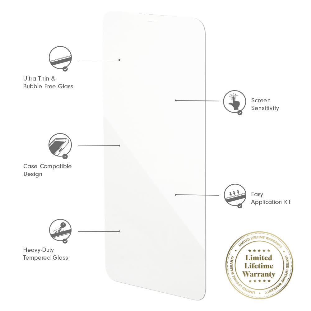 iPhone 12 Screen Protector (2-Pack)