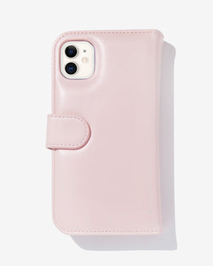 Detachable Wallet Pink iPhone Case Cases