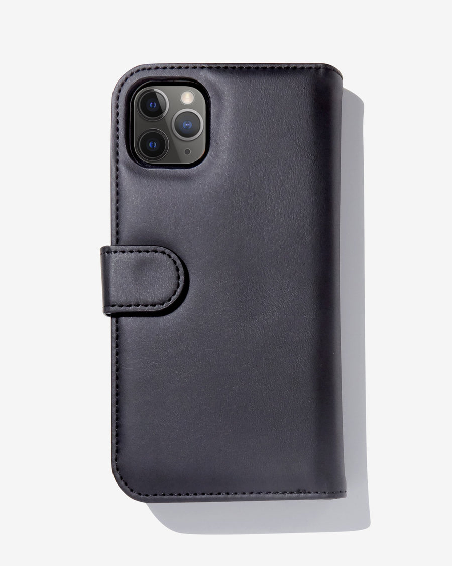 Detachable Wallet Black iPhone Case