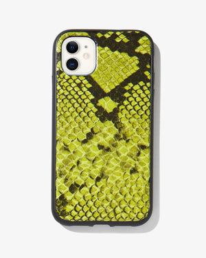Neon Green Python, iPhone (11 / XR) Iphone 11 / xr