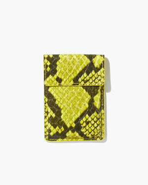 Wallet Sticker - Neon Green Python Just in