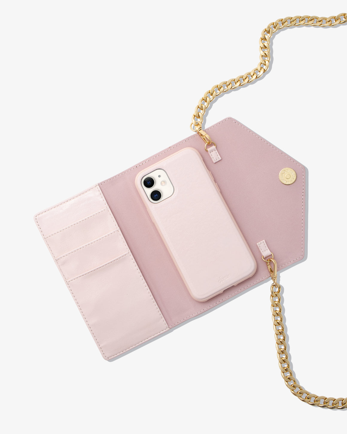 Saturday Night Blush Crossbody iPhone Case